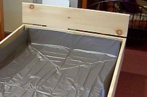 5 Piece Waterbed Frame
