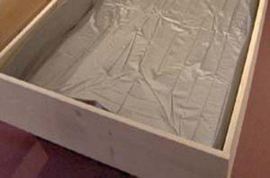 Liner for Hardsided Waterbeds