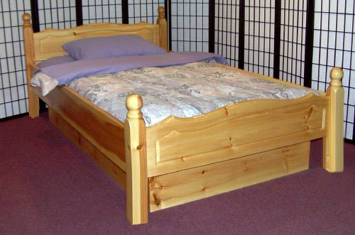 Sunburst 4 Poster Solid Wood Waterbed Frame Waterbeds Canada