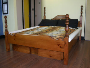 4 Post Waterbed Frame